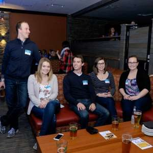 March 2016: Biz Under 40 Bowling & Brews