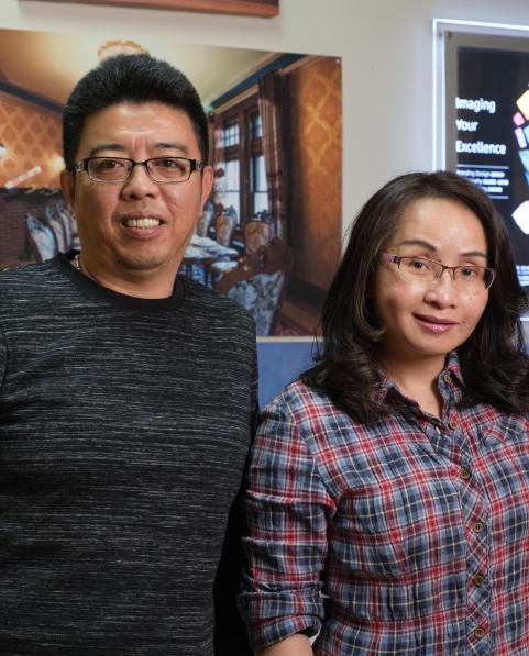Qian Pan and Ray Cai