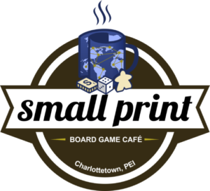Small Print Board Game Cafe